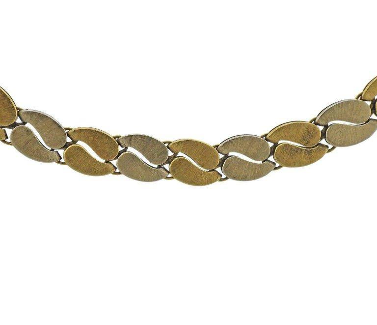 thumbnail image of Mario Buccellati Gold Link Necklace