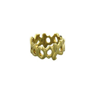 thumbnail image of Tiffany & Co Paloma Picasso Love And Kisses 18K Yellow Gold Ring