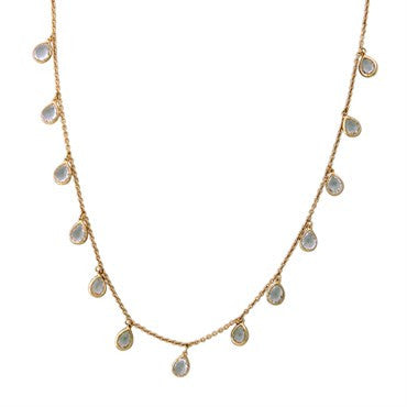 thumbnail image of Ippolita Rose Collection Sterling Clear Quartz Long Necklace 31 Inches