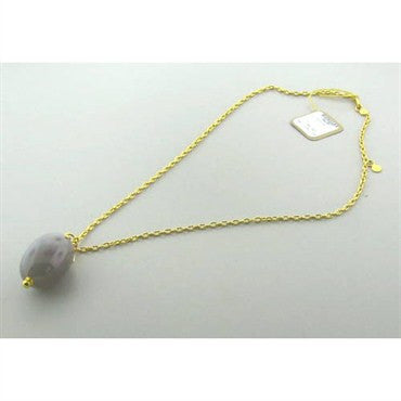 image of New Gurhan 24k Gold Agate Necklace