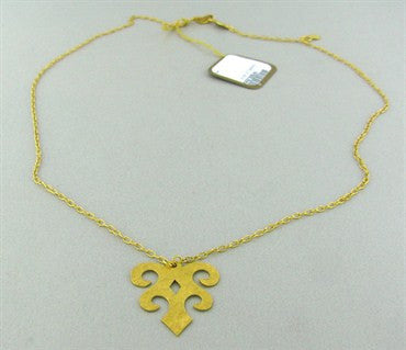 image of New Gurhan 24k Gold Pendant Necklace
