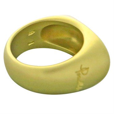 thumbnail image of New Pomellato 18k Satin Finish Gold Ring