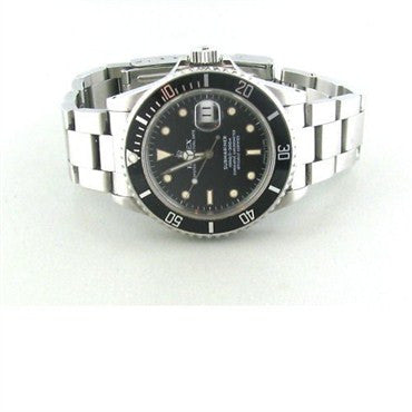 image of Rolex Submariner Stainless Steel Mens Watch 16800