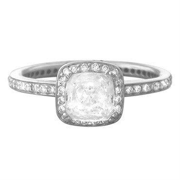 image of Ritani 18k Gold Diamond Engagement Ring Setting
