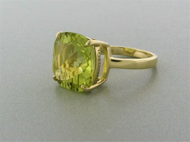 thumbnail image of Tiffany & Co Sparklers 18K Yellow Gold 8.50ct Citrine Cocktail Ring