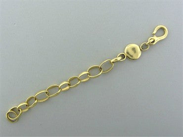 image of Pomellato Sabbia 18K Yellow Gold Chain Link Bracelet