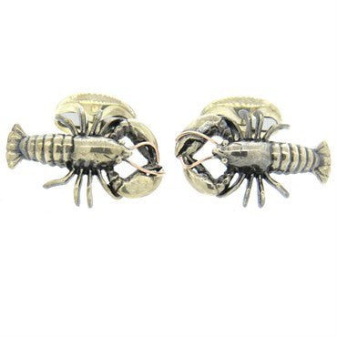 image of Ralph Lauren Sterling Lobster Cufflinks