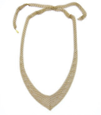 thumbnail image of Tiffany & Co. Elsa Peretti 18k Gold Mesh Necklace