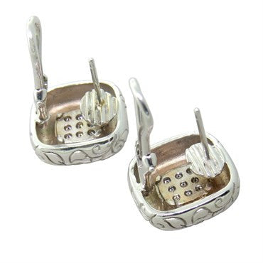 image of Seidengang 18k Gold Diamond Earrings