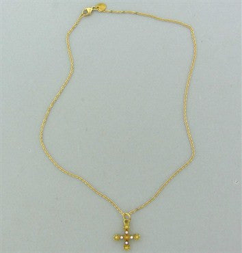 image of Temple St.Clair 18K Gold Diamond Pendant Necklace