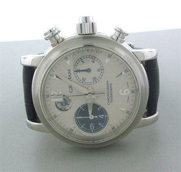 thumbnail image of Graham Foudroyante Platinum Chronograph Mens Watch 2LIAS.S05A.C01B