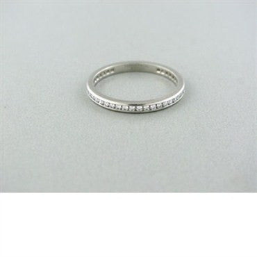 thumbnail image of Tiffany & Co Diamond Channel Set Eternity Band Ring