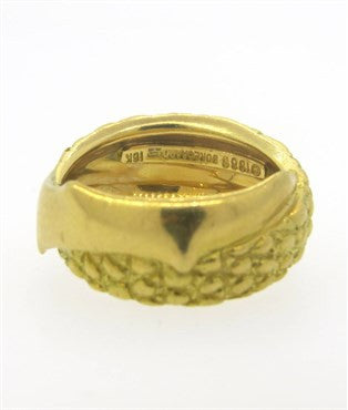 image of Pedro Boregaard 18k Gold Band Ring