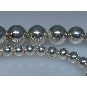 thumbnail image of Estate Tiffany & Co Sterling Bead Necklace