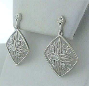 thumbnail image of New Hearts On Fire Potpourri Medium Diamond Drop Earrings