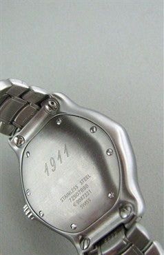 image of Ladies Ebel 1911 Series Stainless Steel Diamond Mop Dial Watch