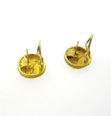thumbnail image of David Yurman 22k Gold Petrvs Horse Earrings