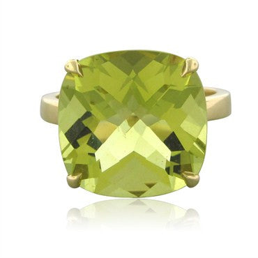 image of Tiffany & Co Sparklers 18K Yellow Gold 8.50ct Citrine Cocktail Ring