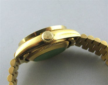 thumbnail image of Rolex President 18K Gold Jubilee Dial Diamond Ladies Watch 69178