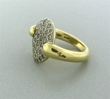 thumbnail image of Pomellato Sabbia 18K Gold Fancy Brown Diamond Ring