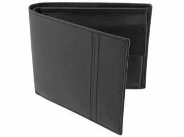 image of ST Dupont Black Leather Defi Wallet 086604