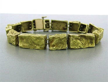 thumbnail image of Vintage Karram 18k Yellow Gold Bracelet
