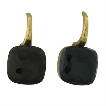 image of Pomellato Nudo 18k Gold Rhodolite Earrings