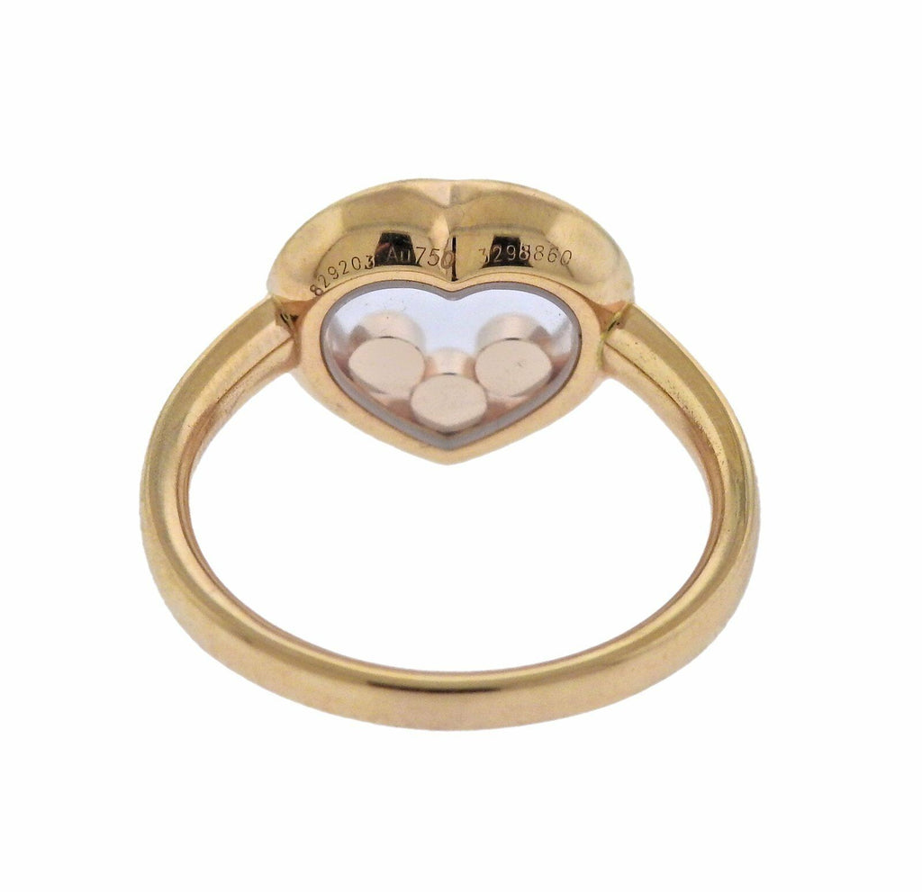 thumbnail image of Chopard Happy Diamonds Gold Heart Ring