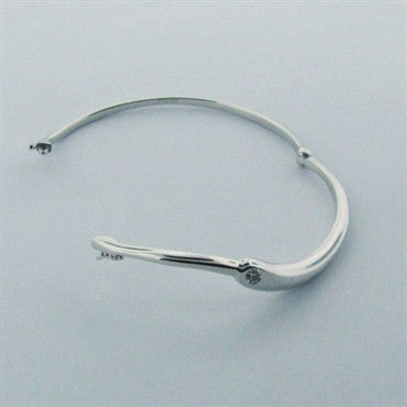 image of Hearts on Fire Enduring Medium Diamond Bangle Bracelet