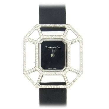 image of Tiffany & Co. Picasso Lady's 18k Gold Diamond Puzzle Quartz Watch