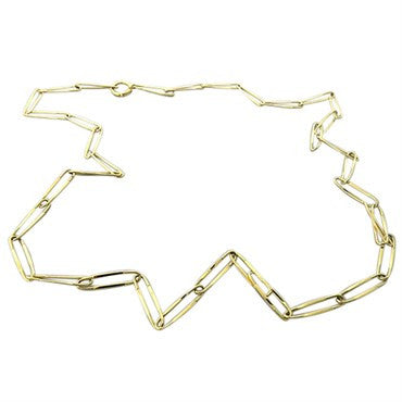 thumbnail image of New Pomellato Collane 18k Gold Link Chain Necklace