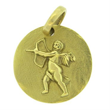 image of H. Stern 18k Gold Cupid Charm Pendant