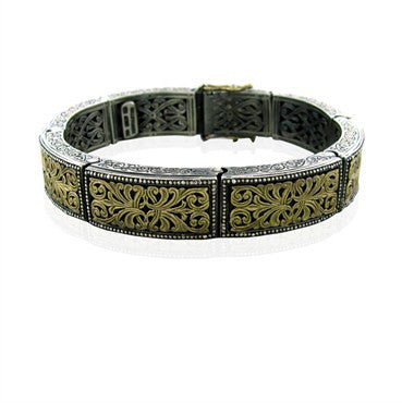 image of Konstantino Sterling Silver 18k Yellow Gold Bracelet