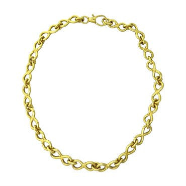 image of Denise Roberge 22k Gold Link Necklace
