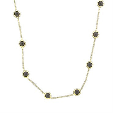 image of New Ippolita 18K Smokey Quartz Mini Lollipop Chain Necklace
