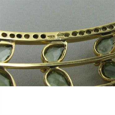 image of Temple St. Clair 18k Gold Diamond Tourmaline Bracelet