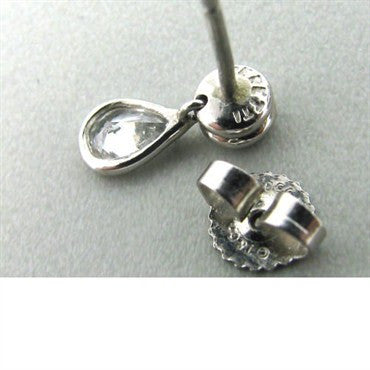 thumbnail image of Tiffany & Co Elsa Peretti Diamonds By The Yard Earrings