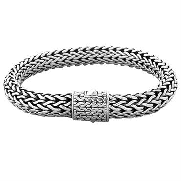 image of John Hardy Sterling Silver 10mm Classic Chain Bracelet