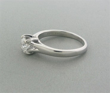 thumbnail image of New Hearts On Fire Seduction Solitaire 0.47ct Diamond Engagement Ring