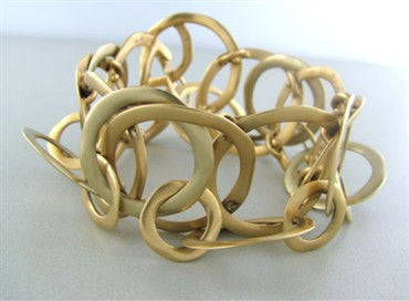 thumbnail image of Estate Modern Pomellato Multi Link 18K Gold Bracelet