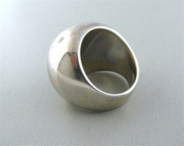 image of Modernist Joachim S'paliu Spain Sterling Silver Ring