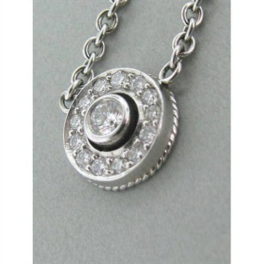 image of Estate Penny Preville Platinum Diamond Necklace