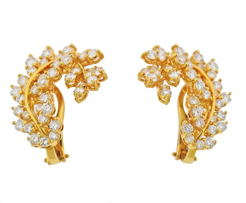 image of Assael South Sea Pearl 5.59ctw Diamond Gold Night & Day Cocktail Earrings