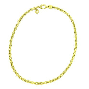 image of Judith Ripka 18k Gold Diamond Chain Necklace