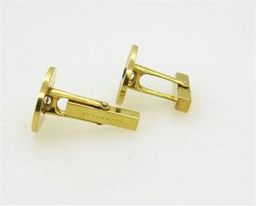 thumbnail image of Tiffany & Co. Sapphire Gold Cufflinks