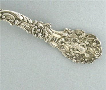 thumbnail image of Rare Antique Gorham Versailles All Sterling Serving Table Spoon