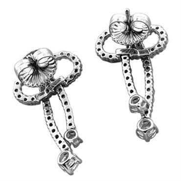 thumbnail image of New Hearts On Fire Gifted 2.45ctw Diamond Earrings