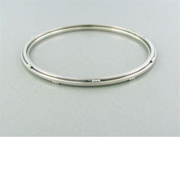 image of Georg Jensen Sterling Silver Bangle Bracelet 51 C