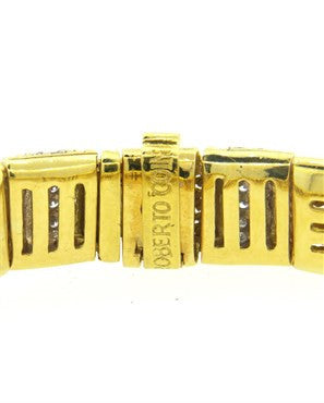 thumbnail image of Roberto Coin 2.00ctw Diamond 18k Gold Bracelet