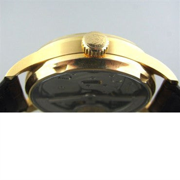 image of Iwc Schauffhausen Portugese Automatic 18k Gold Watch